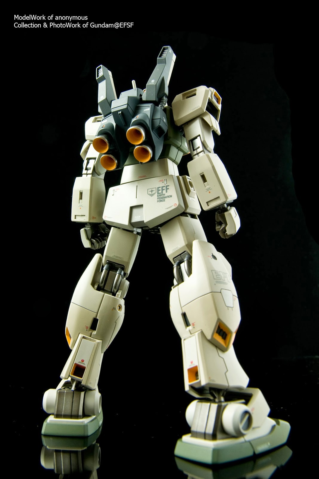 high grade gm III bandai model kit gundam century