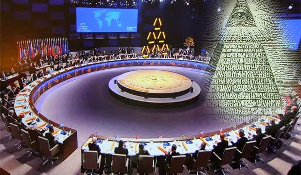 Video Of World Leaders Wearing The Symbol Of The Pyramid At Major International Meeting