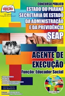 Apostila Concurso Público Seap Educador Social 2014