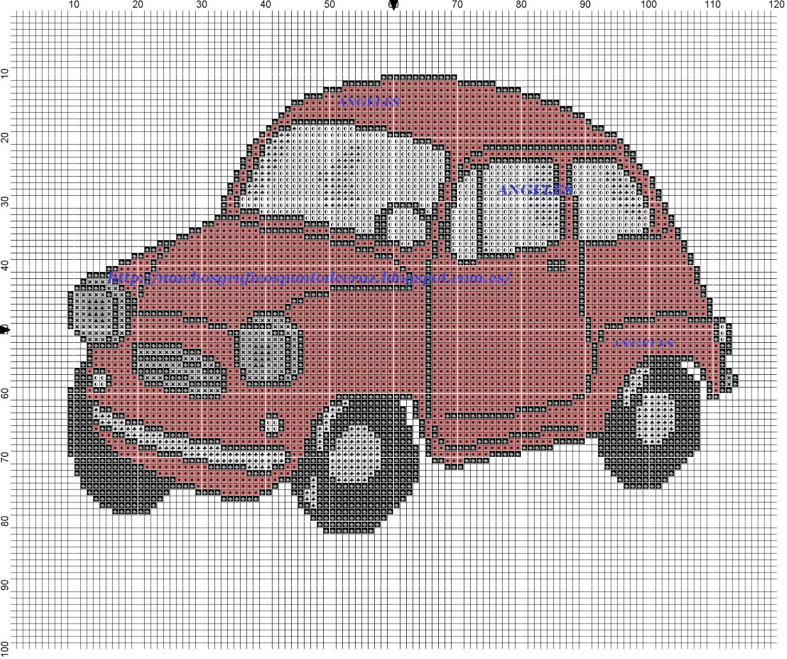 Graficos punto de cruz gratis coches y motos 55 - Videos de punto de cruz ...