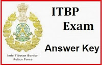 ITBP Answer Key