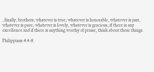 Philippians 4-8