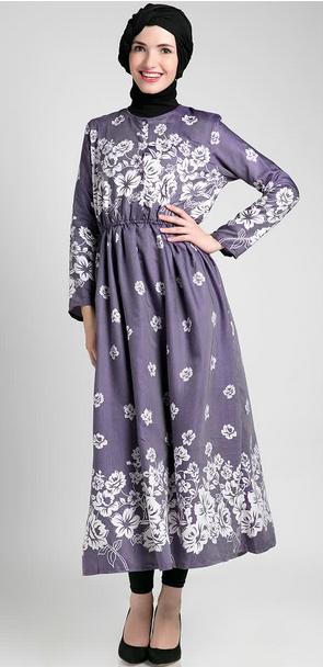 Blus Muslim Batik Modis