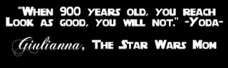 The Star Wars Mom Signature