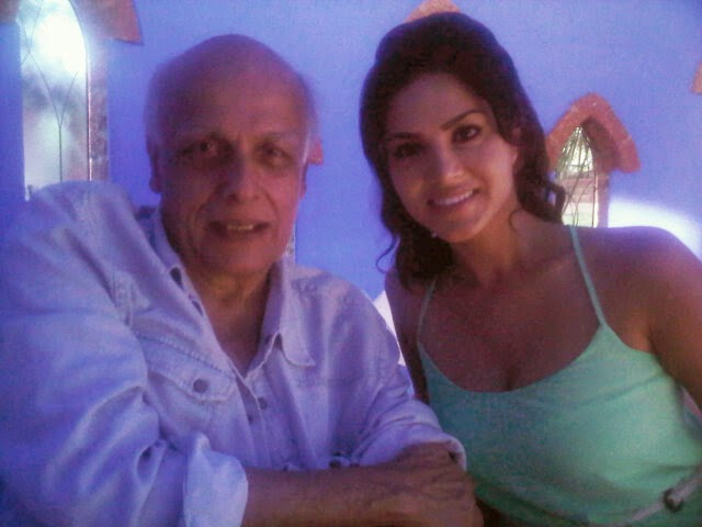 Jism 2 Movie Shooting Stills - Featuring Hot Sunny Leone and Mahesh Bhatt