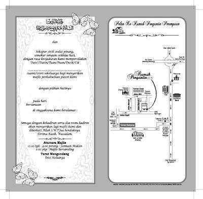 design kad kahwin pelbagai bentuk design.. :)
