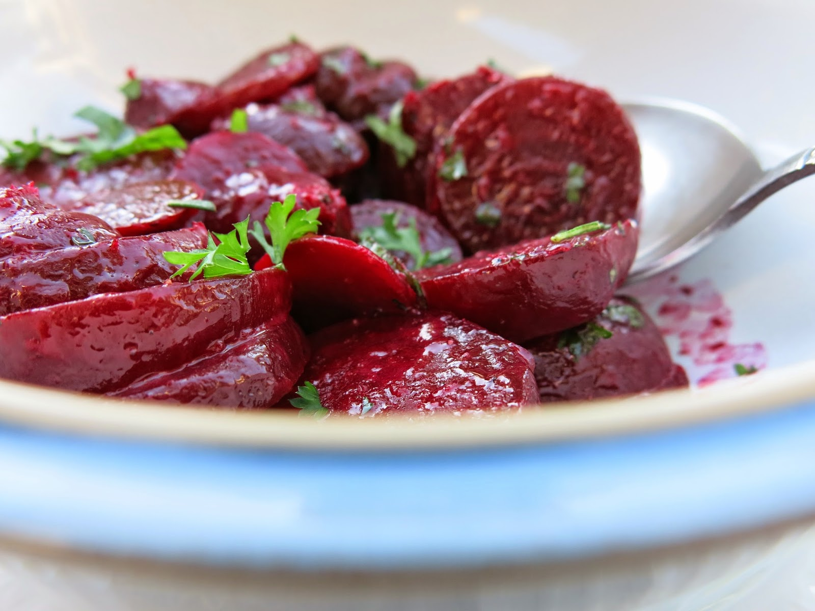 mennonite girls can cook beets with herbs butter