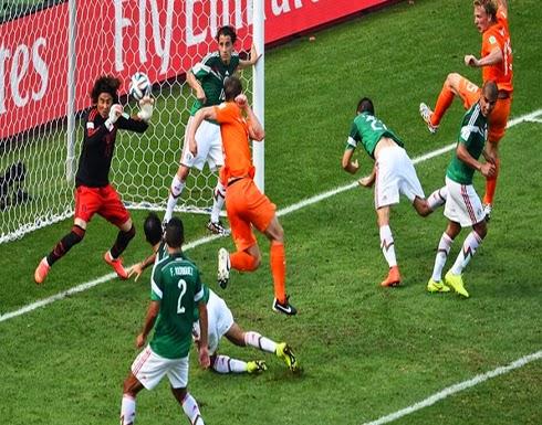 هولندا تقتل المكسيك في الوقت الضائع