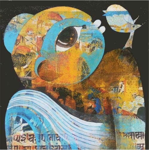 "3rd -14th Mar,'14: Pradarshak presents ""Mood"" Solo Exhibition by Ribaka Nikam"