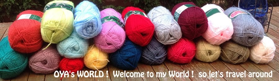 OYA's WORLD- Crochet-Knitting