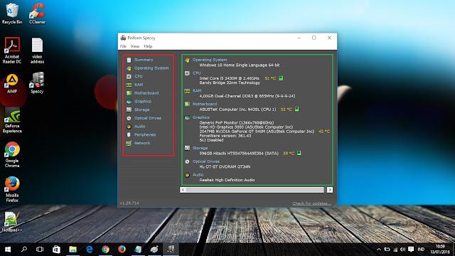 Cara Mengetahui Detail Spesifikasi Laptop Windows 10