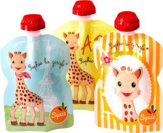 gourdes squiz sophie la girafe