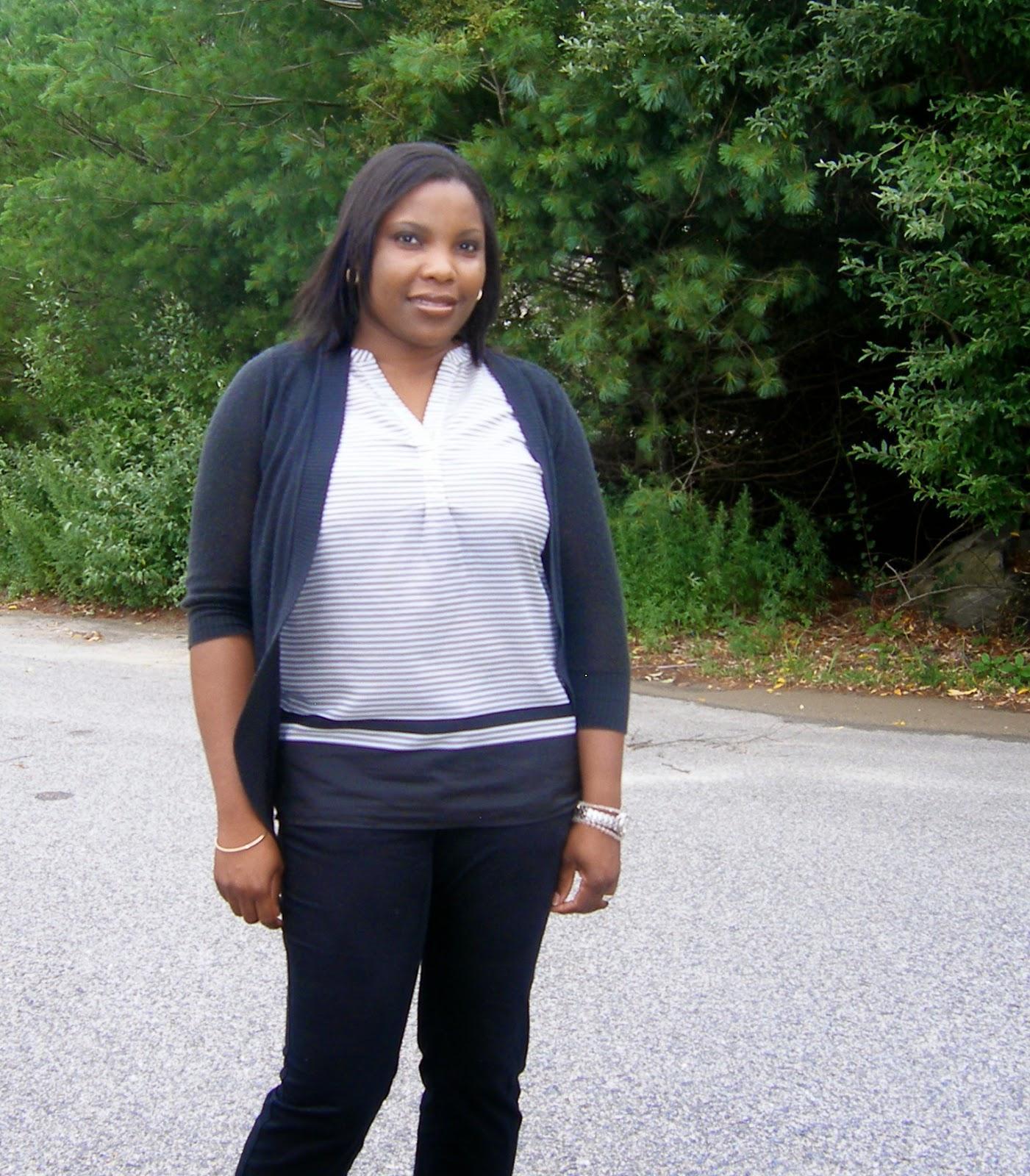 Merona Open Cardigan, target Cardigan, striped sleeveless blouse