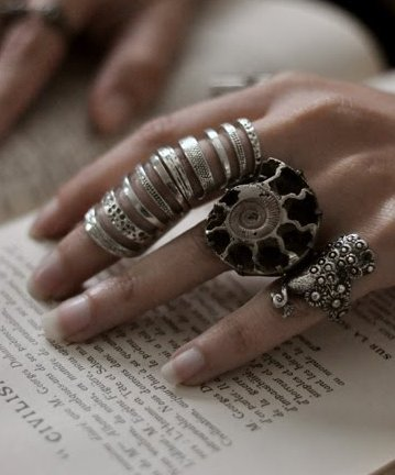 Fashion-Of-Chunky-Rings