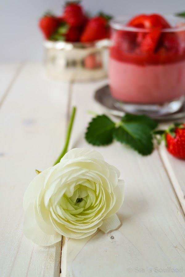 Erdbeer-Creme