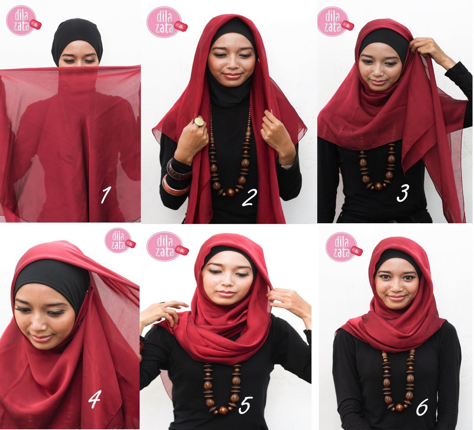 Yaaa udah mulai naik kelas 2 SMA gue memutuskan buat pakai hijab