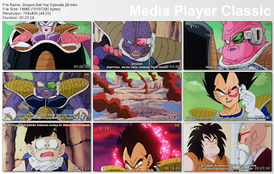 "Download Film / Anime Dragon Ball Kai Episode 20 ""Ambisi Besar Vegeta! Pemberontakan Melawan Freeza"" Bahasa Indonesia"