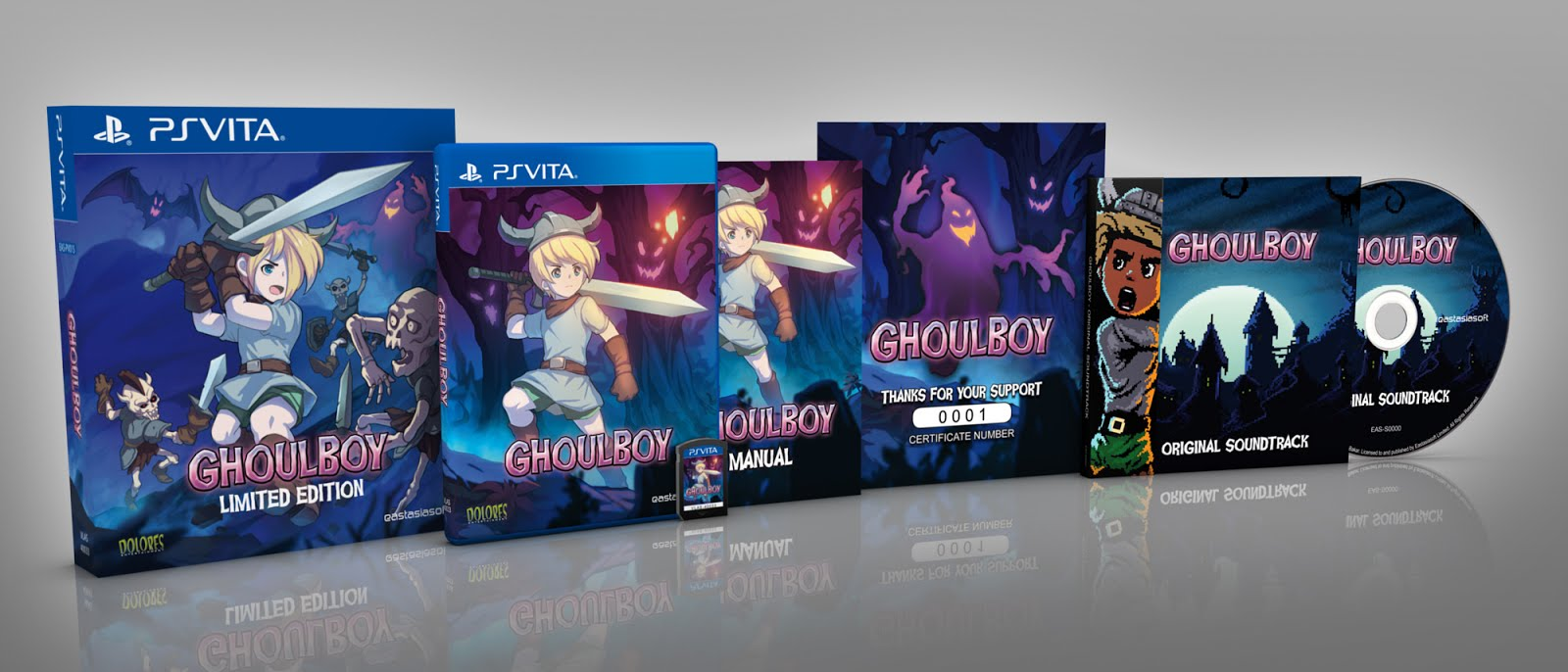 Ghoulboy Now on PS4, Vita and Nintendo Switch!