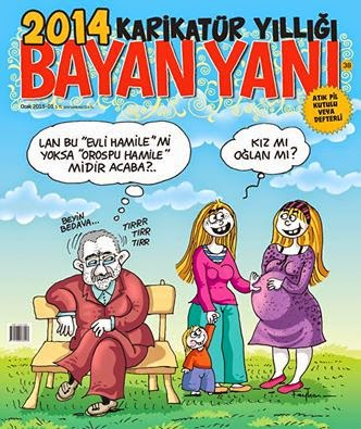 BAYAN YANI 2014 KARİKATÜR YILLIĞI
