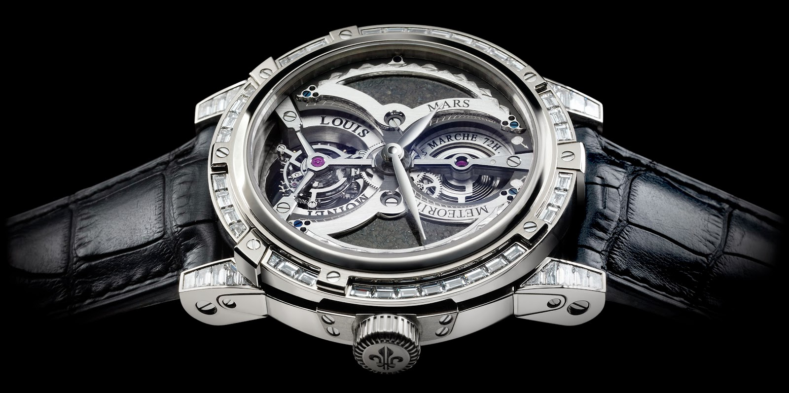 Height of horology louis moinet meteoris for Louis moinet watch