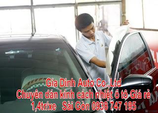 Dịch vụ phim dán kiếng xe hơi tại HCM