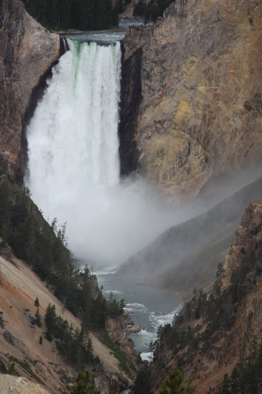 Canyon Falls, Yellowstone
