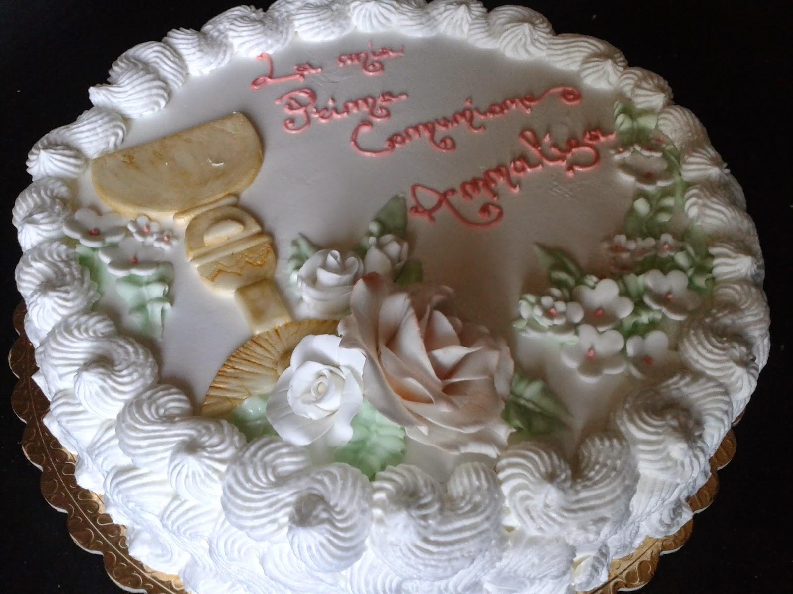 Preferenza Destinazione forno: Torta Prima Comunione BQ47