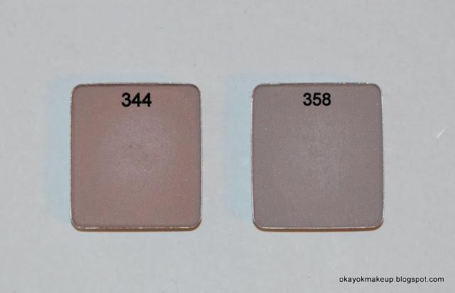 Inglot 344 358