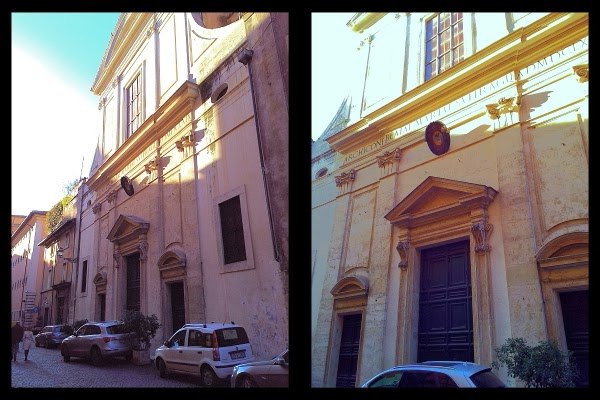 Santa Maria del Suffragio na via Giulia
