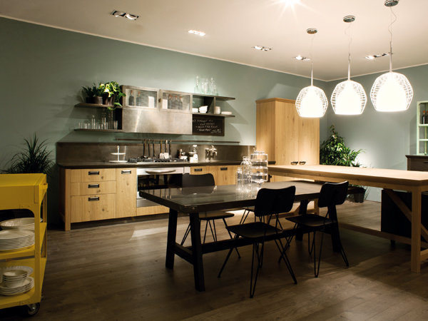 Homebuildlife: Diesel Social Kitchen at EuroCucina