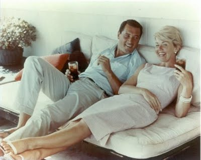 Pillow Talk Doris Day And Rock Hudson Eve Out Of The Garden