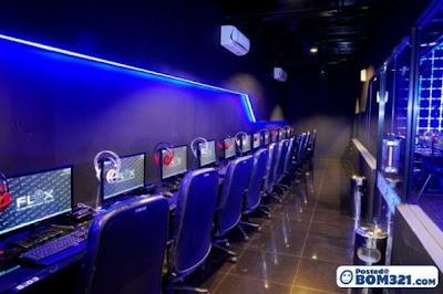 CyberCafe Berkonsepkan Filem TRON