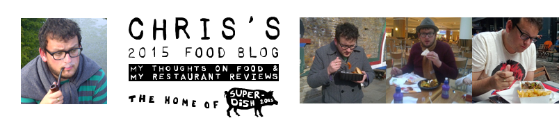 Chris's 2015 Food Blog