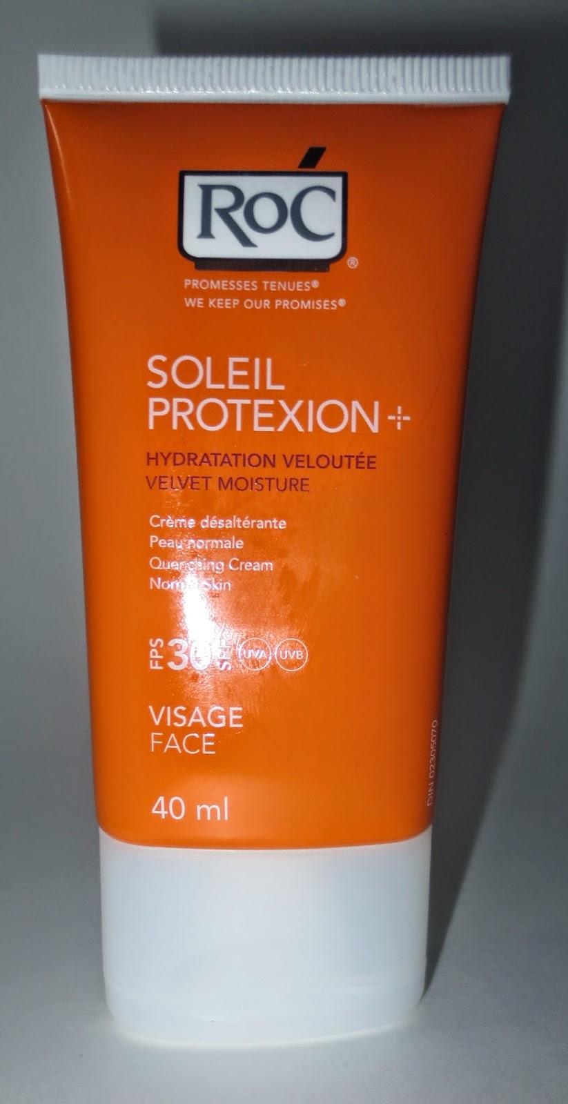 RoC SOLEIL PROTEXION+ Velvet Moisture SPF 30 For Face