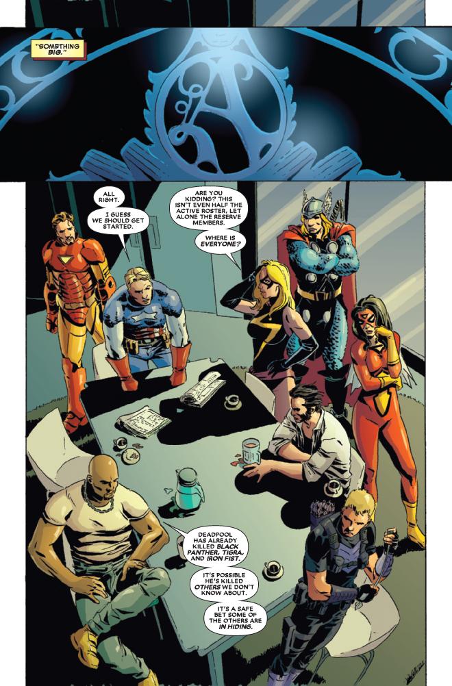 Deadpool Kills The Marvel Universe Iron Man Sam Johnson Comics: De...