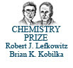 2012 Nobel Prize in Chemistry:  Robert Lefkowitz at Duke and Brian Kobilka at Stanford.