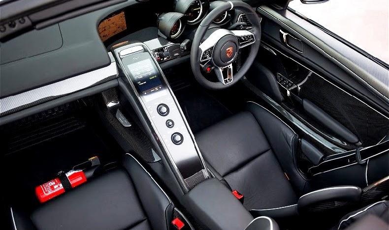 2015 porsche 918 spyder concept sport car design - Porsche 918 interior ...