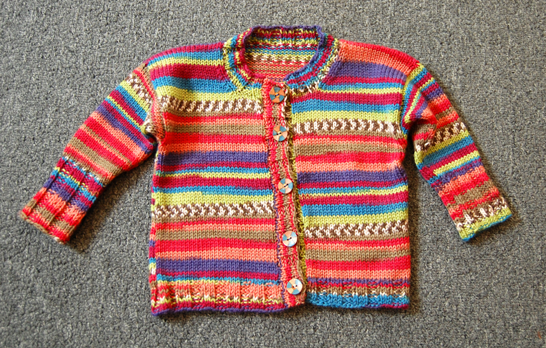 Two Color Sweater Knitting Patterns : Jennifer Knits Los Angeles