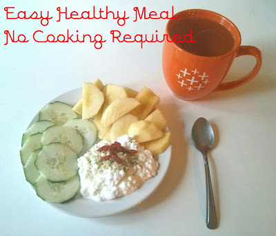 easy healthy no cook meal