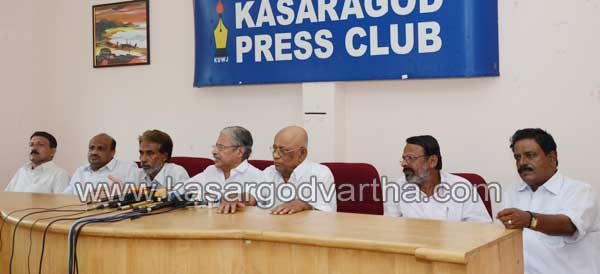 Congress-A-Group-Press-Conference, Kasaragod