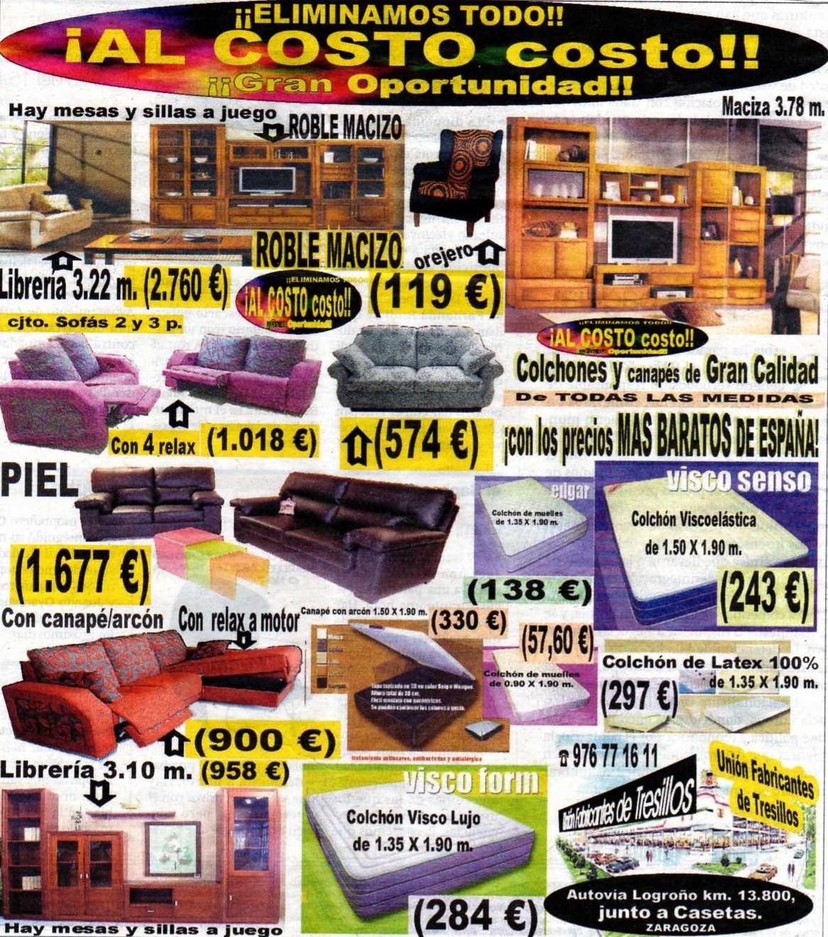 uni n fabricantes de tresillos mayo 2011