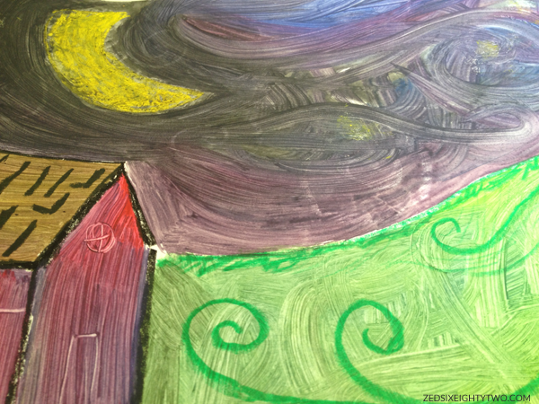 Vincent Van Gogh children's art program