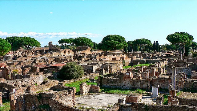 d 233 couverte d une nouvelle partie d ostie l ancien port de la rome antique
