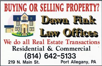 Dawn Fink Law Office, Port Allegany