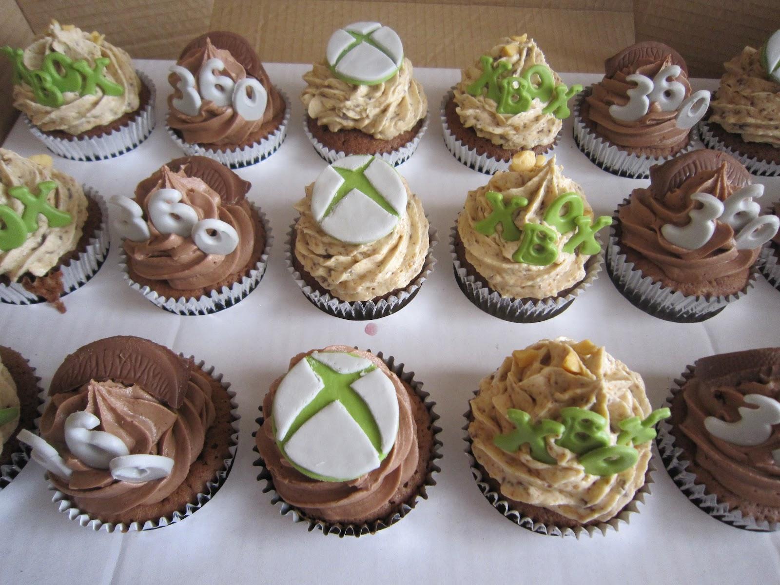 Cupcakeaholic Xbox Birthday Cakes