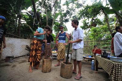 wisata, liburan, tetebatu, lombok, sawah, gunung, wisata desa
