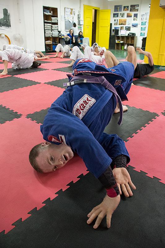 Danijel Brajčić - vežba zagrevanja