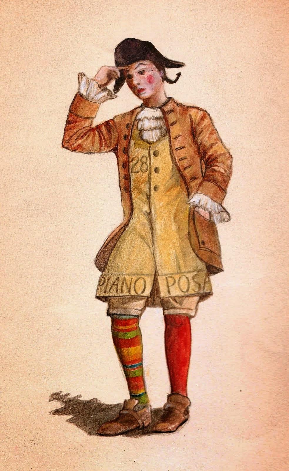 La Maschera di Stenterello (1800)