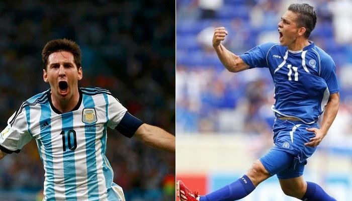 Argentina vs El Salvador en vivo