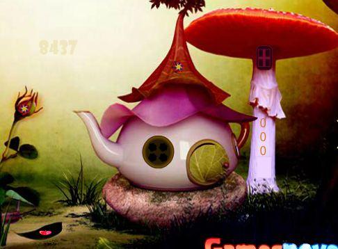 GamesNovel Fairy Town Escape Walkthrough